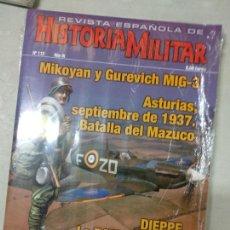 Militaria: REVISTA ESPAÑOLA DE HISTORIA MILITAR Nº 112. Lote 219863713