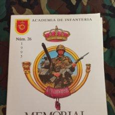 Militaria: MEMORIAL DE INFANTERÍA N° 26 1993 REGIMIENTO DE INFANTERÍA GARELLANO. PALMA. CEUTA. MORTERO PESADO.. Lote 219973988