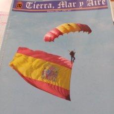 Militaria: REVISTA. TIERRA, MAR Y AIRE. Nº 366 /7. 2017 BBBS. Lote 220363141
