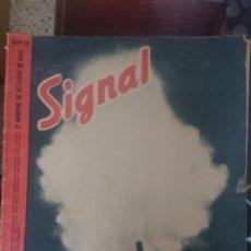 Militaria: REVISTA SIGNAL EDICION ESPAÑOLA 2 NUMERO OCTUBRE 1942. Lote 221139286