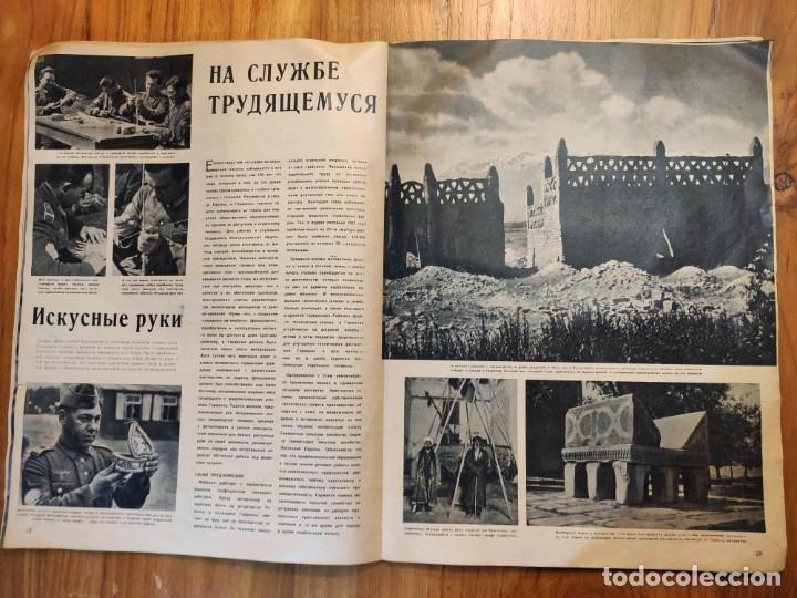 Militaria: Dos revistas 2 y 8 1944 SIGNAL rusas ww2 muy rara propaganda guerra alemana - Foto 9 - 221517527