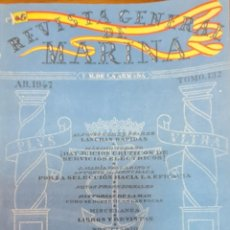 Militaria: REVISTA GENERAL DE LA MARINA. ABRIL AÑO 1947. TOMO 132. E. M. DE LA ARMADA. Lote 221760273