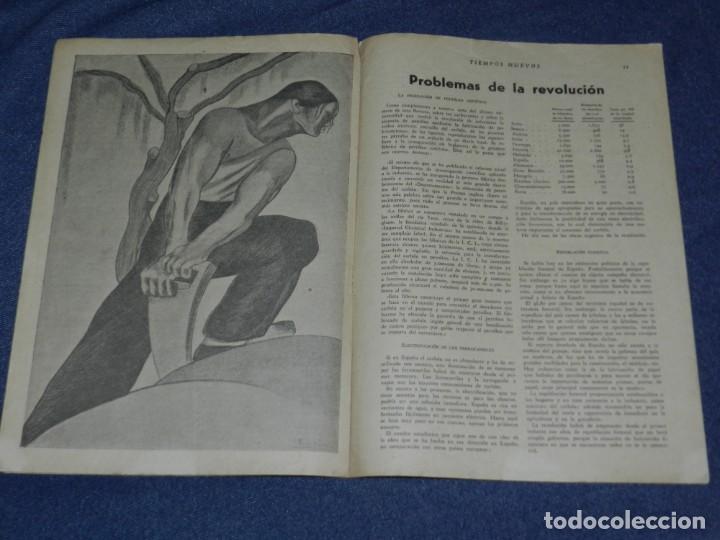 Militaria: REPUBLICA ANARQUISMO - REVISTA TIEMPOS NUEVOS AÑO II Nº 7 BARCELONA 28 FEBRERO 1935 REVISTA SEMANAL - Foto 3 - 221799173