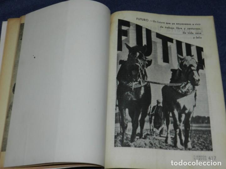 Militaria: GUERRA CIVIL ANARQUISMO REVISTA TIEMPOS NUEVOS AÑO III BARCELONA 1ºDIC. 1936 Nº 9 CARTEL DESPLEGABLE - Foto 6 - 221800183