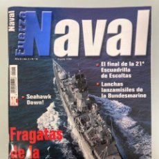 Militaria: FUERZA NAVAL 16,POSTER,FRAGATAS DE LA ARMADA,LA ARMADA Y EL PRESTIGE,SUBMARINOS 1,21 ESCUADRILLA. Lote 221864783