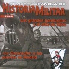 Militaria: REVISTA ESPAÑOLA DE HISTORIA MILITAR, Nº120/121 LAS GRANDES BOMBARDAS Y EL SITIO DE GIJON HM-234. Lote 288571413