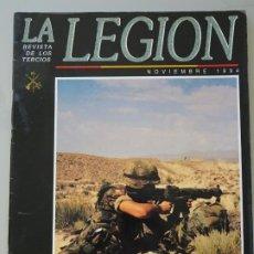 Militaria: REVISTA MILITAR LEGIONARIA. LA LEGIÓN NOVIEMBRE 1994. MOSTAR KOSOVO, BETA 223, BETACOM 180GR. Lote 222163527