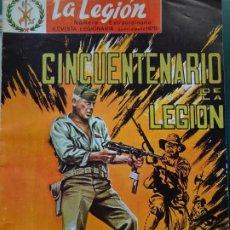 Militaria: REVISTA MILITAR LEGIONARIO. LA LEGIÓN SEPTIEMBRE 1970. NÚMERO ESPECIAL 50 ANIVERSARIO. 220GR. Lote 222311788