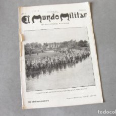 Militaria: REVISTA DECENAL ILUSTRADA DEL MUNDO MILITAR. AÑO 3. 10 DE FEBRERO DE 1910. Nº 74. Lote 222791173