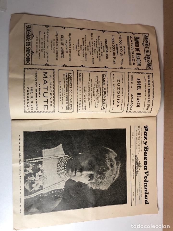 Militaria: Boletín oficial somatenes armados quinta región 5 región zaragoza febrero 1929 - Foto 2 - 225020193