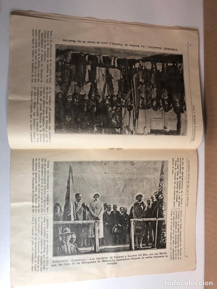 Militaria: Boletín oficial somatenes armados quinta región 5 región zaragoza febrero 1929 - Foto 4 - 225020193