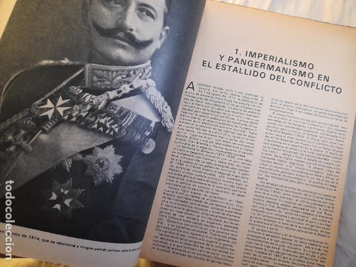 Militaria: TESTIMONIO, AYER, HOY Y MAÑANA EN LA HISTORIA. Bruguera 1ª edición 1975 - Foto 4 - 226131985