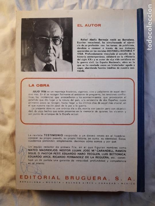 Militaria: TESTIMONIO, AYER, HOY Y MAÑANA EN LA HISTORIA. Bruguera 1ª edición 1975 - Foto 9 - 226131985
