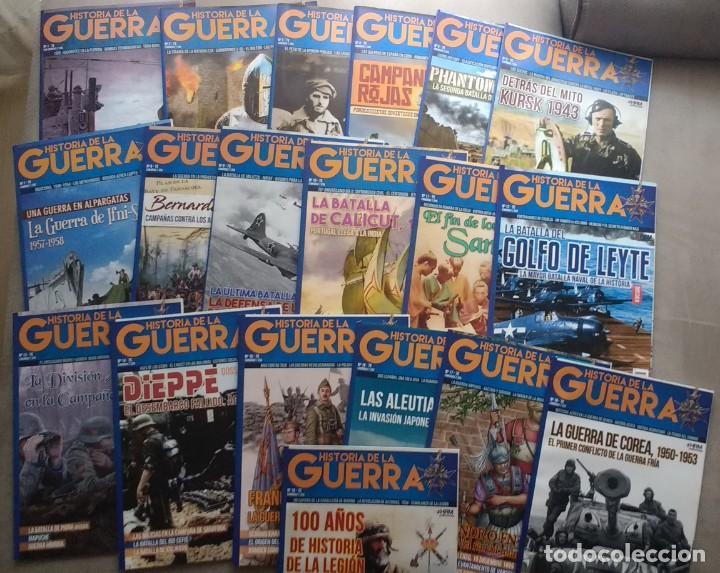 REVISTA HISTORIA DE LA GUERRA 1-19 NUMEROS HRM (Militar - Revistas y Periódicos Militares)