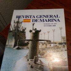 Militaria: REVISTA GENERAL DE MARINA . OCTUBRE DE 2000. Lote 227712750