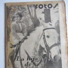 Militaria: SEMANARIO GRÁFICO FOTOS Nº61 (23 ABRIL 1938) GUERRA CIVIL. LERIDA. VINAROZ. BENICARLÓ.. Lote 231463555