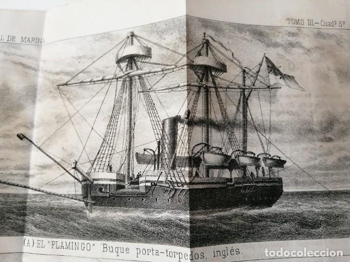 REVISTA GENERAL DE MARINA 1878 ILUSTRADA MUY RARA (Militar - Revistas y Periódicos Militares)