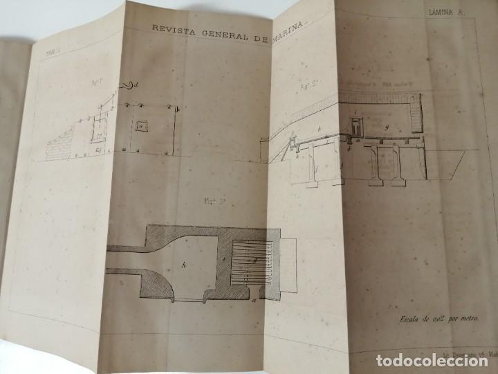 Militaria: REVISTA GENERAL DE MARINA 1878 ILUSTRADA MUY RARA - Foto 7 - 234404205