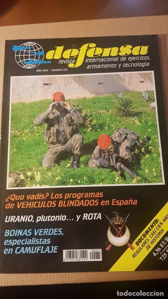 REVISTA DEFENSA NÚMERO 275. AÑO 2001. ARTÍCULO REGULARES. CAMUFLAJE BOINAS VERDES EJÉRCITO ESPAÑOL (Militar - Revistas y Periódicos Militares)
