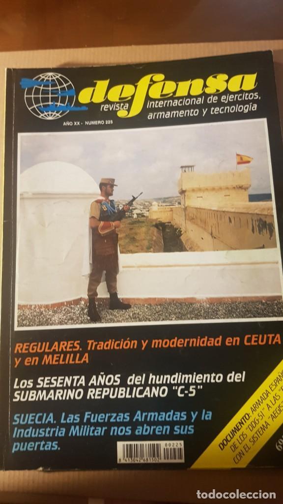 REVISTA DEFENSA NÚMERO 225. AÑO 1997. ARTÍCULO REGULARES. LAS PISTOLAS EN LA LEGIÓN (Militar - Revistas y Periódicos Militares)