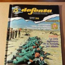 Militaria: REVISTA DEFENSA. NÚMERO 306. AÑO 2003. LA LEGIÓN PATRULLAS DE TIRO. Lote 234804250
