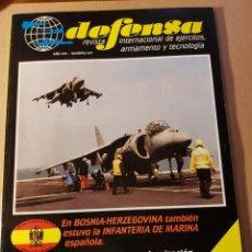 Militaria: REVISTA DEFENSA. NÚMERO 247. AÑO 1998. GRAN ARTÍCULO INFANTERÍA DE MARINA EN BOSNIA. Lote 234808035