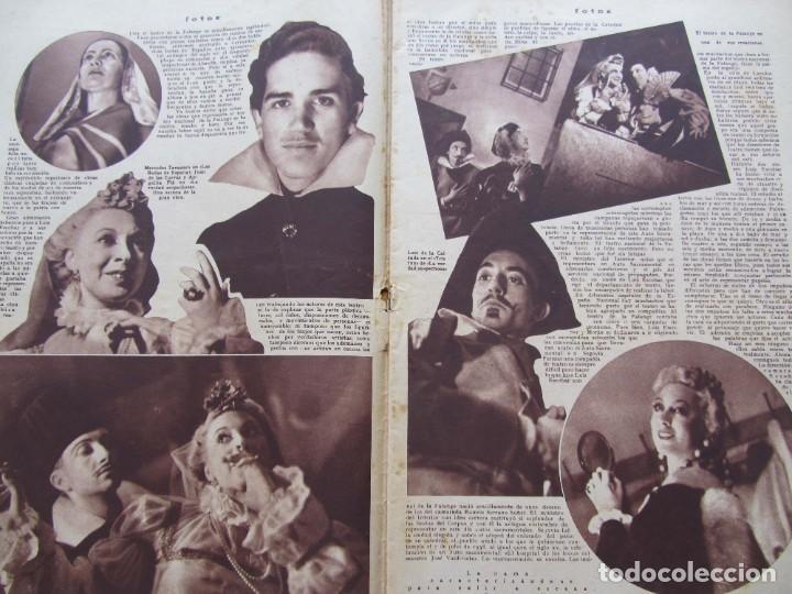 Militaria: Semanario gráfico FOTOS nº 96 (31 Diciembre 1938) Guerra civil. Teatro falange, Barrio Terol - Foto 4 - 234927555