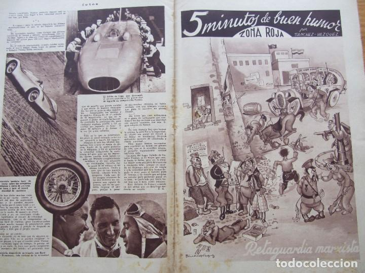 Militaria: Semanario gráfico FOTOS nº 96 (31 Diciembre 1938) Guerra civil. Teatro falange, Barrio Terol - Foto 8 - 234927555