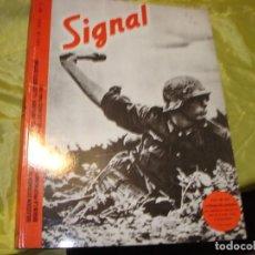 Militaria: REVISTA SIGNAL Nº 2. JULIO 1941. EDICION ESPAÑOLA FACSIMIL. EL ARQUERO, 1980. Lote 234929820