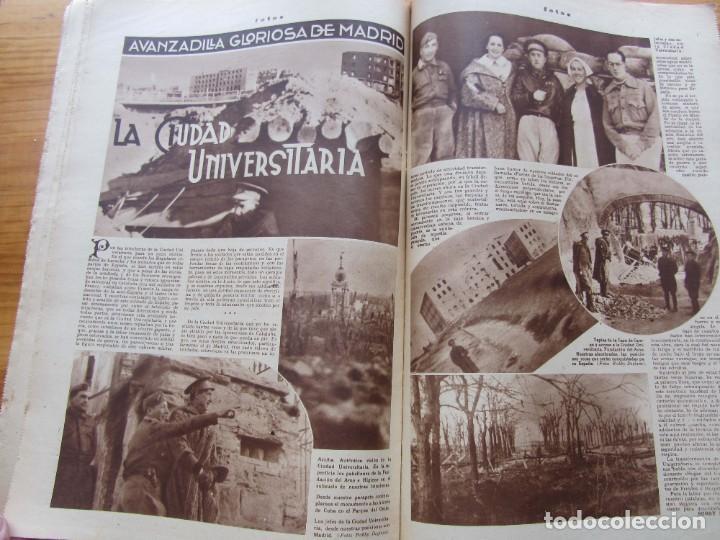 Militaria: Semanario gráfico FOTOS nº 106 (11 marzo 1939) Guerra civil. Port-Bou. Liberación Menorca. Ciudadela - Foto 8 - 234937300