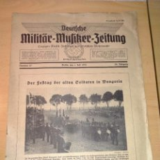 Militaria: PUBLICACION ALEMANA EPOCA III REICH, BERLIN AÑO 1936. Lote 235517505