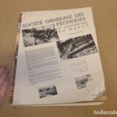 Militaria: ANTIGUA REVISTA VERTICE DE FALANGE, ORIGINAL, NUMERO 35 DEDICADO A MARRUECOS, AGOSTO 1940. Lote 235848040