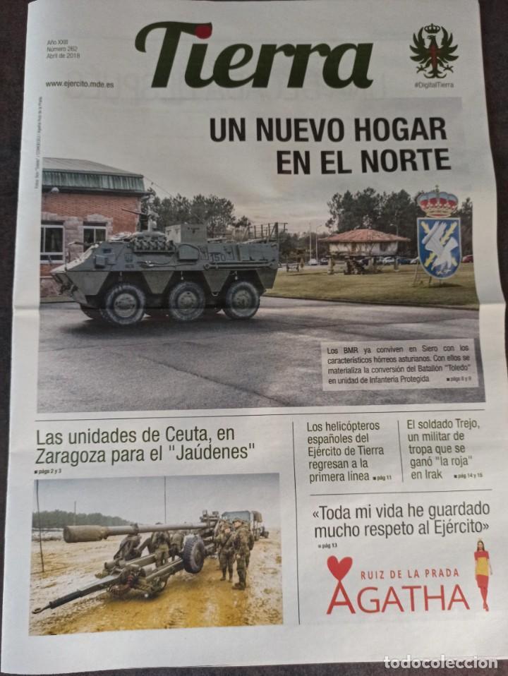 PERIÓDICO EJÉRCITO DE TIERRA N°272 2018 MANDO OPERACIONES ESPECIALES. ARTILLERÍA. HELICÓPTEROS DE CO (Militar - Revistas y Periódicos Militares)