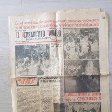 Militaria: EL PENSAMIENTO NAVARRO 13 DE JULIO DE 1957. Lote 236887850