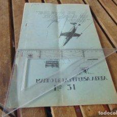 Militaria: REVISTA BOLETIN DE SEGURIDAD EN VUELO MANDO DE LA DEFENSA AEREA Nº 31 AÑO 1966. Lote 241969410