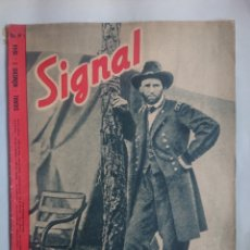 Militaria: REVISTA SIGNAL EDICION ESPAŃOLA NUMERO 1 1944. Lote 242259880