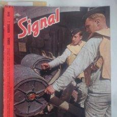 Militaria: REVISTA SIGNAL EDICION ESPAŃOLA NUMERO 5 1944. Lote 242260425