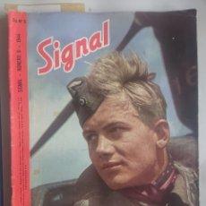 Militaria: REVISTA SIGNAL EDICION ESPAŃOLA NUMERO 6 1944. Lote 242260580