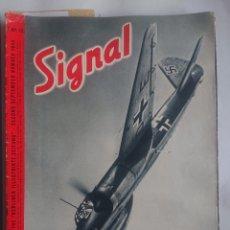 Militaria: REVISTA SIGNAL EDICION INGLESA NUMERO 12 1940. Lote 242263420