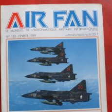 Militaria: AIR FAN AÑO 1989 Nº 123 FEBRERO. Lote 244458930