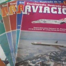 Militaria: 6 FASCÍCULOS ENCICLOPEDIA ILUSTRADA DE LA AVIACIÓN - VOL. 1 - N º 2,3,4,6,7,9 - EDITORIAL DELTA,S.A.. Lote 244473530