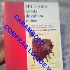 Militaria: MILITARIA REVISTA DE CULTURA MILITAR VOLUMEN 20 2006 U34. Lote 245927005