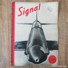 Militaria: REVISTA SIGNAL N° 2 DE 1940 - MUY RARA - SIGNAL MAGAZINE. Lote 246450135
