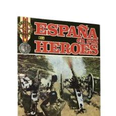 Militaria: REVISTA MILITAR ESPAÑA EN SUS HÉROES // Nº 24 ABARRAN: FLOMESTA MUERE DE SED // GUERRA DE MARRUECOS. Lote 247197285