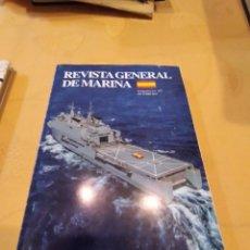 Militaria: M-23 LIBRO REVISTA GENERAL DE MARINA OCTUBRE 2017. Lote 247614955