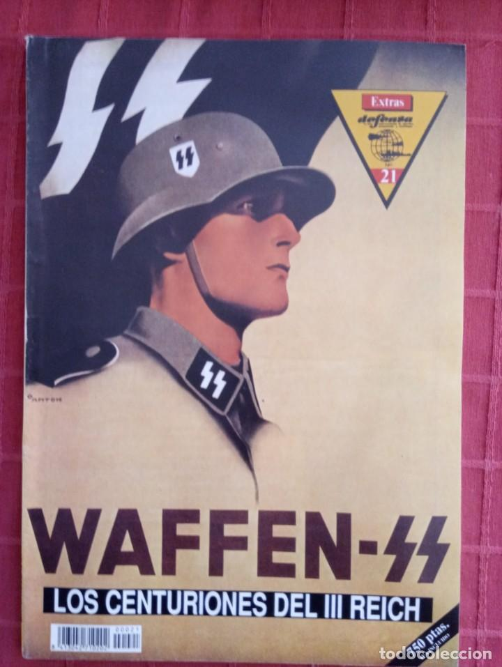 REVISTA EXTRA DE DEFENSA N° 21, WAFFEN SS LOS CENTURIONES DEL III REICH (Militar - Revistas y Periódicos Militares)