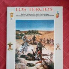 Militaria: LOS TERCIOS, HERMANDAD ANTIGUOS CABALLEROS LEGIONARIOS DE BARCELONA. LEGION. Lote 247986445
