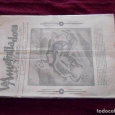 Militaria: GUERRA CIVIL REVISTA LA AMETRALLADORA MAYO 1937 NUMERO 20 RARO NUMERO. Lote 248042165