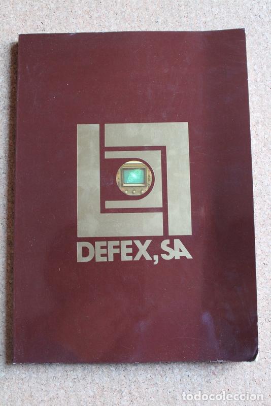 DEFEX, S:A. ARMAMENTO. CARTUCHERÍA Y DISPAROS. TRANSPORTE. AVIACIÓN. MARINA.EQUIPOS AUXILIARES. (Militar - Revistas y Periódicos Militares)