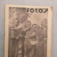 Militaria: SEMANARIO GRAFICO NACIONALSINDICALISTA FOTOS Nº23 1937 JORNADA TRIUNFAL EN BRUNETE. Lote 253117240